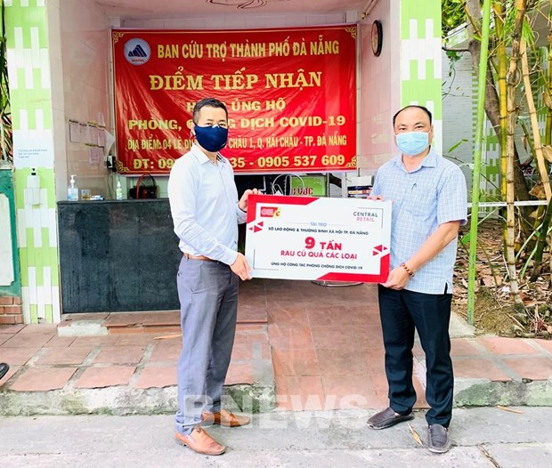 More support for Da Nang in COVID-19 fight hinh anh 1