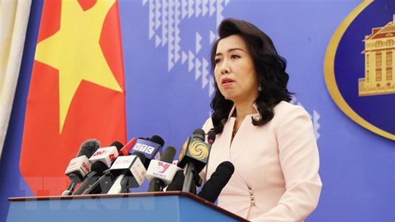 All activities in Hoang Sa, Truong Sa without Vietnam's permission void: Spokeswoman hinh anh 1