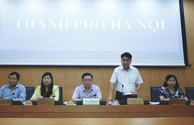 Hanoi to conduct real-time PCR testing on large scale to tackle COVID-19 hinh anh 1