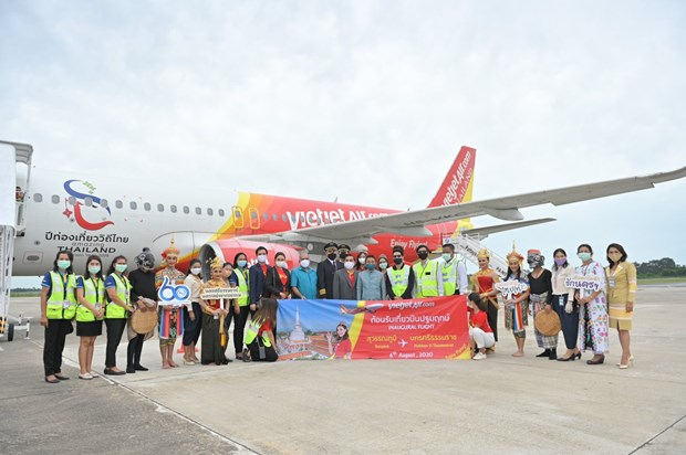 Thai Vietjet commences 10th domestic service in Thailand hinh anh 1