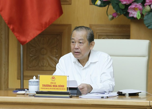 Meeting discusses amendments to decrees on SOE equitisation hinh anh 1