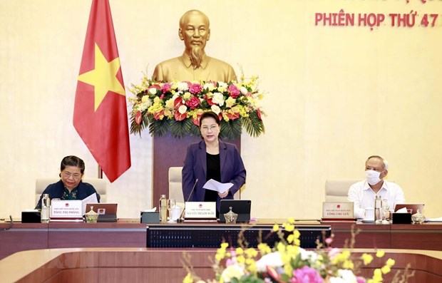 NA Standing Committee convenes 47th meeting hinh anh 1