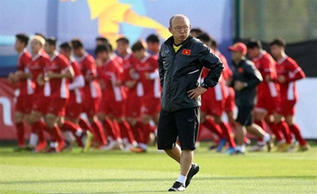 Vietnam prepare for World Cup 2022 qualifiers hinh anh 1