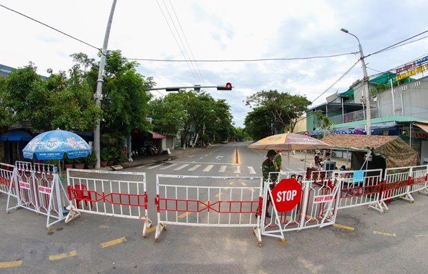 Da Nang continues social distancing measures hinh anh 1