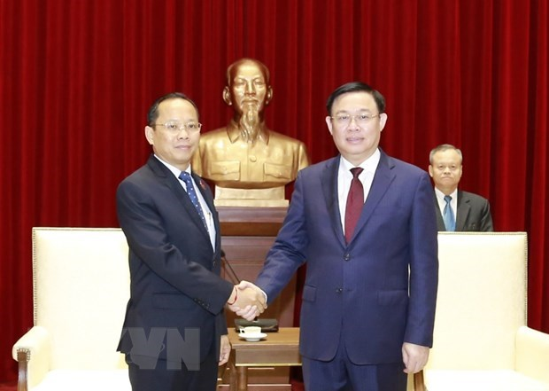 Hanoi looks to strengthen cooperation with Phnom Penh hinh anh 1