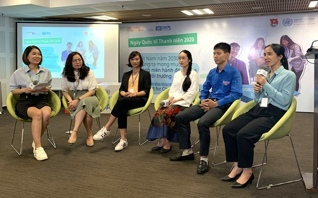 International Youth Day 2020 marked in Hanoi hinh anh 1
