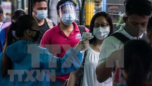 Philippines reports over 4,000 new COVID-19 cases on August 13 hinh anh 1