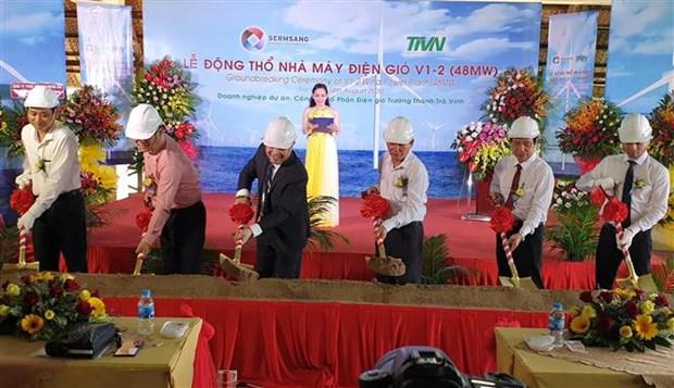 Construction of Vietnam-Thailand wind power plant underway hinh anh 1