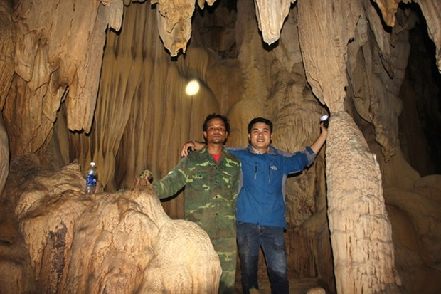 New cave discovered in Quang Tri hinh anh 1