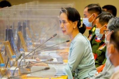 Myanmar government, ethnic armed groups agree on ceasefire hinh anh 1