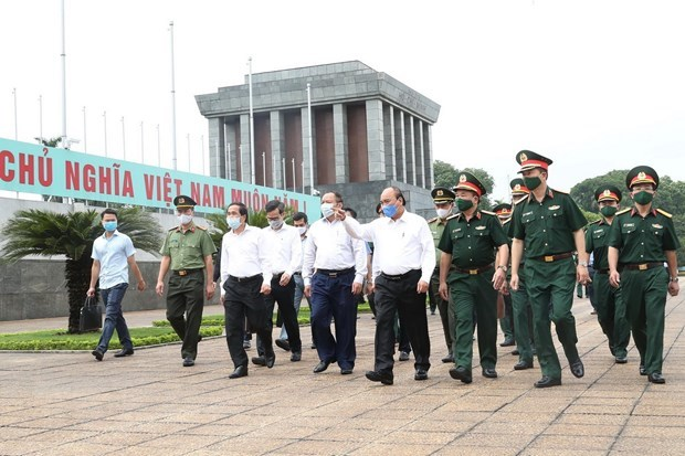 PM agrees to reopen President Ho Chi Minh Mausoleum from Aug 15 hinh anh 1