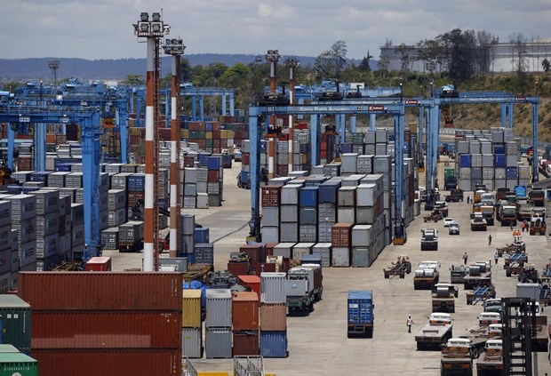 Indonesia export-import revenue plummets in July hinh anh 1
