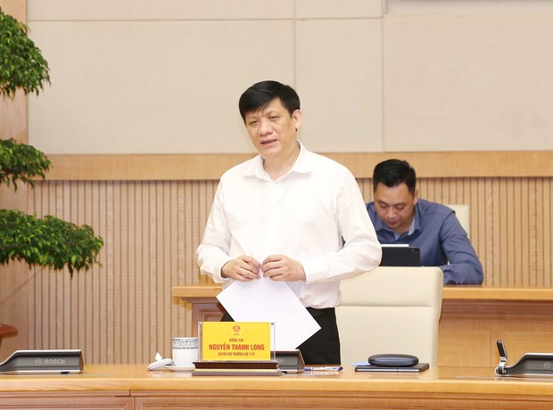 Acting Health Minister suggests greater concern needed in community about COVID-19 hinh anh 1