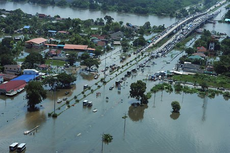 Thailand to build 3.2-billion-USD canal for preventing floods hinh anh 1
