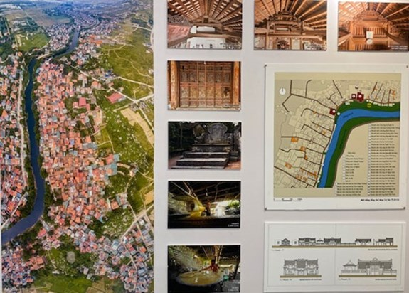 Exhibition featuring old villages held in Hanoi hinh anh 1