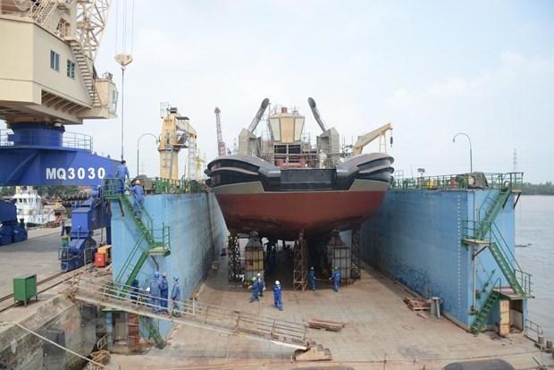 Hyundai Vietnam shipbuilding company exports ships to 16 countries hinh anh 1