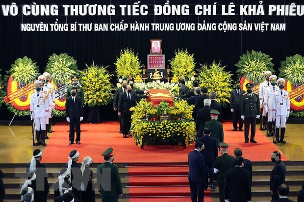 More condolences over late leader's passing hinh anh 1