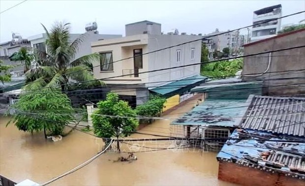 Heavy downpours wreak havoc in northern localities hinh anh 1