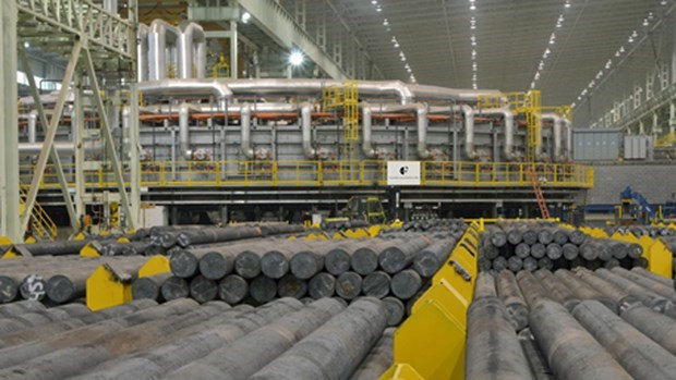 Steel consumption down 9.6 pct. in first seven months hinh anh 1