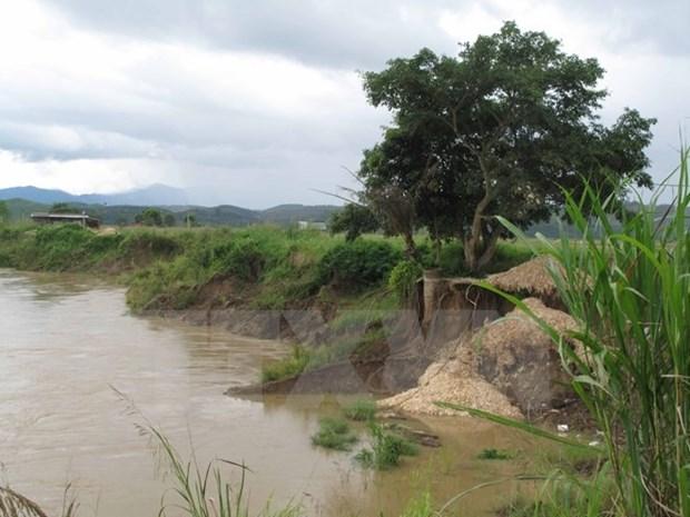 Dak Nong approves anti-landslide projects along Krong No river hinh anh 1