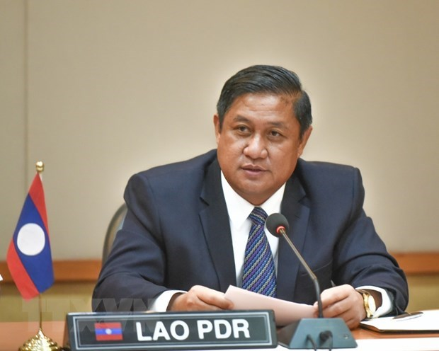 Lao Ambassador speaks highly of Vietnam's contributions to ASEAN hinh anh 1
