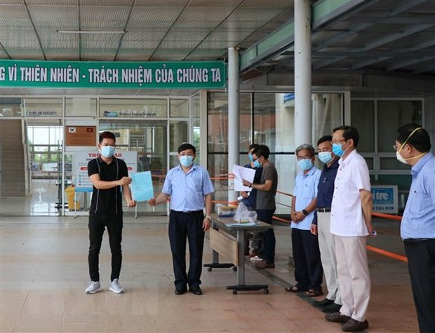Quang Nam: 11 COVID-19 patients successfully treated hinh anh 1