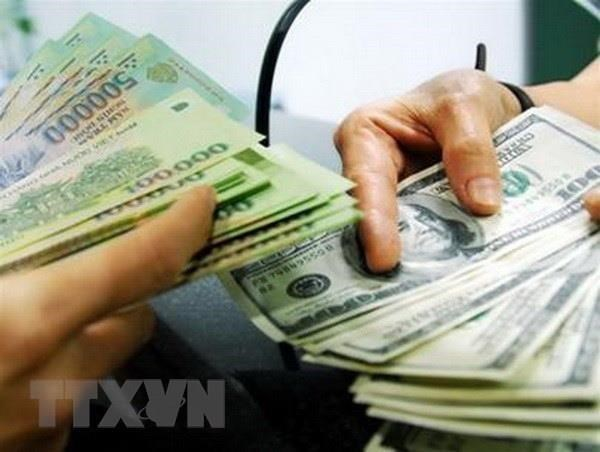 Reference exchange rate down 5 VND on August 18 hinh anh 1