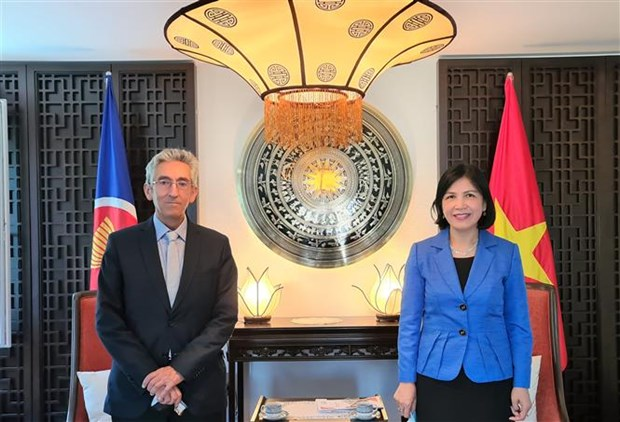 Vietnam bolsters cooperation with Swiss-based intergovernmental organisation hinh anh 1