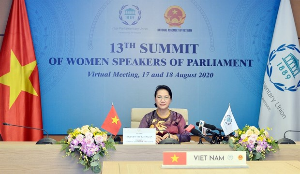 Parliaments urged to promote role in ending violence against women hinh anh 1