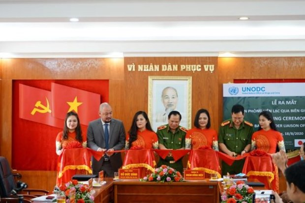 UNODC Border Liaison Office set up in Cao Bang province hinh anh 1