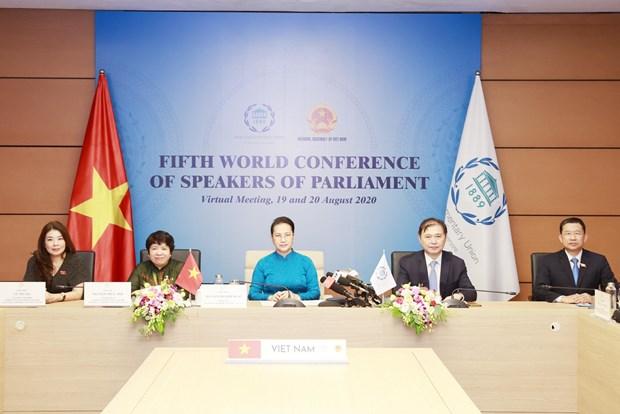 Remarks by NA Chairwoman Nguyen Thi Kim Ngan at seminar on climate change urgency hinh anh 1