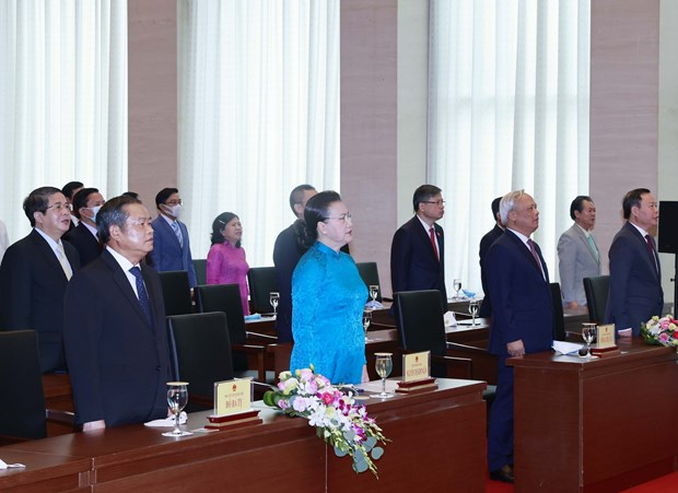 NA leader attends ceremony marking August Revolution, National Day hinh anh 1