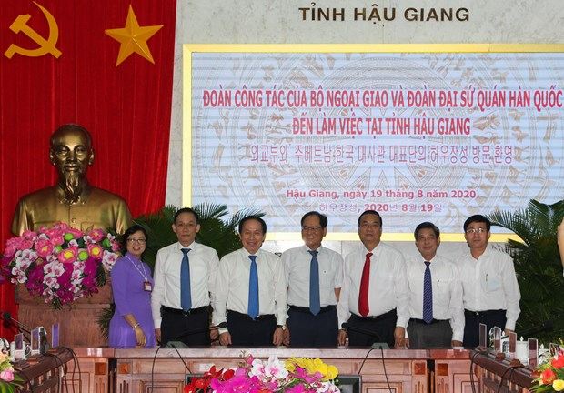 Hau Giang looks to expand multifaceted cooperation with RoK hinh anh 1