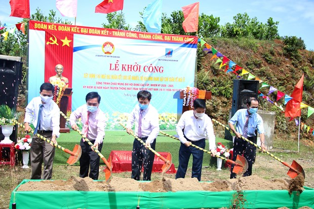 Quang Ngai building homes for households in need hinh anh 1