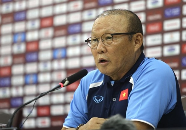 Vietnam to focus on World Cup qualifiers: coach Park hinh anh 1