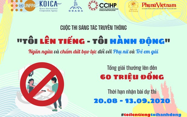 Entries invited for competition on gender-based violence against women, girls hinh anh 1