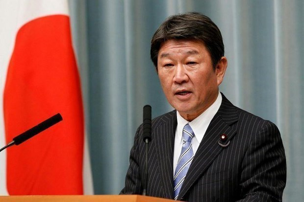 Japanese foreign minister visits Papua New Guinea, Cambodia, Laos, Myanmar hinh anh 1