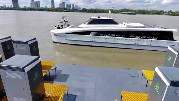 Thailand: Electric ferry to be available for Phadung canal in December hinh anh 1