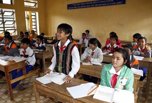 Ninh Thuan enhances quality of ethnic minority language teaching hinh anh 1