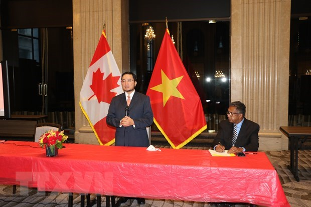 August Revolution, National Day marked in Canada hinh anh 1