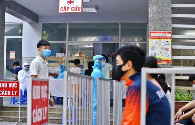 No new COVID-19 cases reported on August 21 morning hinh anh 1