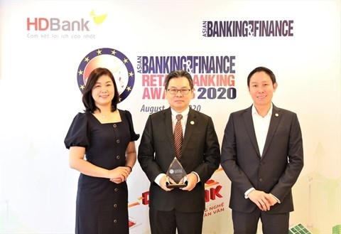 HDBank named best domestic retail bank for second straight year hinh anh 1