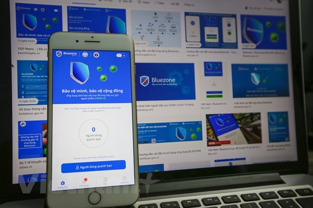 Locally-developed tracing app Bluezone tops 20 million downloads hinh anh 1