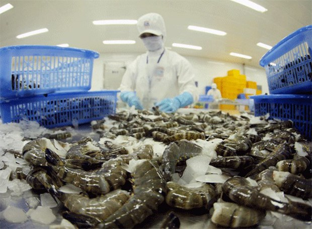 RoK increases import of Vietnam's shrimps hinh anh 1