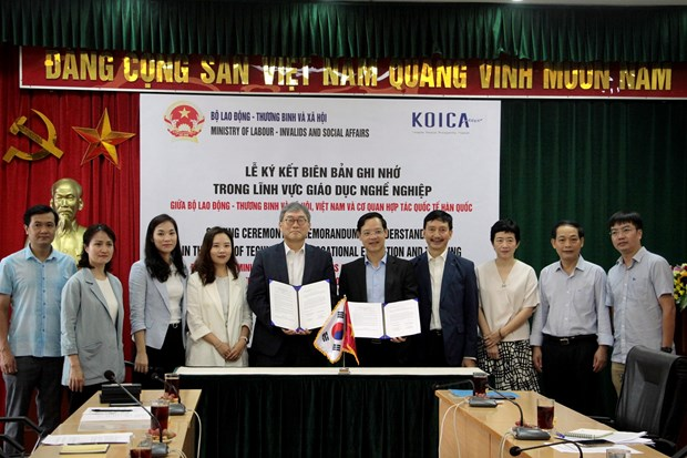 KOICA supports Vietnam in giving vocational training to disadvantaged people hinh anh 1
