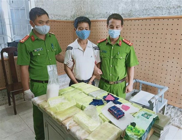 Two drug cases busted in Dien Bien hinh anh 1