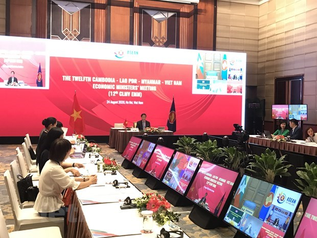 12th CLMV Economic Ministers' Meeting held online hinh anh 1
