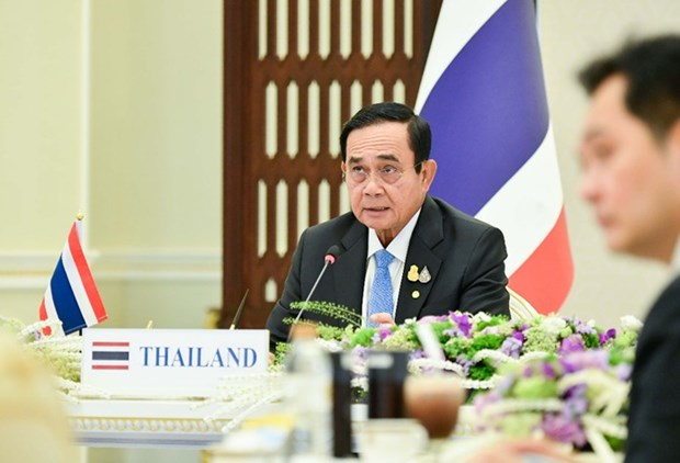 Thai PM proposes four Mekong-Lancang cooperation areas hinh anh 1