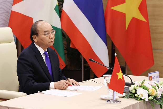 PM attends 3rd Mekong-Lancang Cooperation Leaders' Meeting hinh anh 1