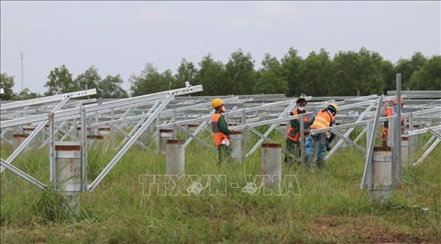 Binh Phuoc's biggest solar power project to join national grid in December hinh anh 1